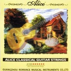سیم گیتار کلاسیک آلیس نقره ای
