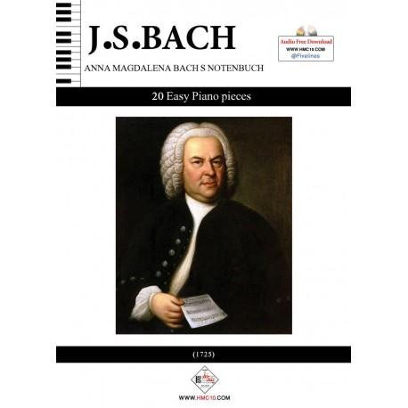 آناماگدالنا باخ (20 قطعه آسان برای پیانو)