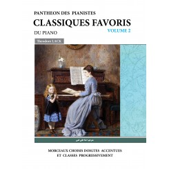 برگزیده قطعات کلاسیک برای پیانو(جلد دوم)