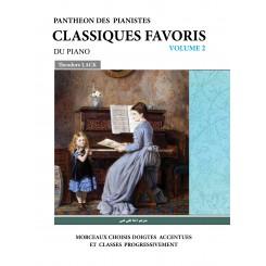 کلاسیک فاوریز(برگزیده قطعات کلاسیک برای پیانو)(جلد دوم)
