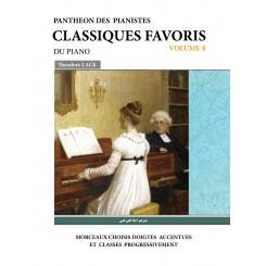 کلاسیک فاوریز(برگزیده قطعات کلاسیک برای پیانو)(جلد چهارم)